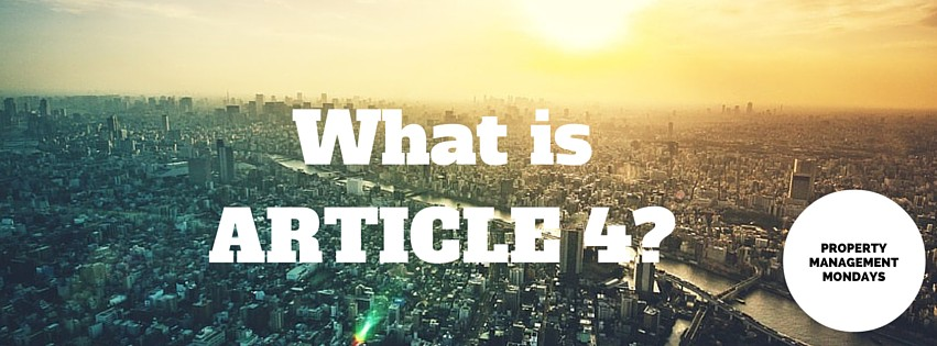 What is Article 4 and what does it mean for you?