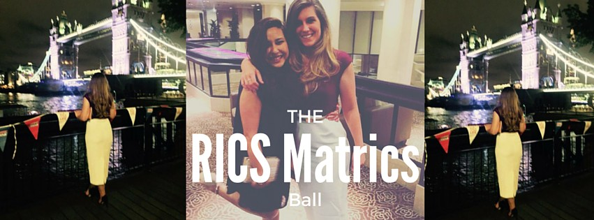RICS Matrics Ball – The Other Side of Work