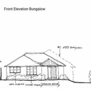 Front Elevation Bungalow
