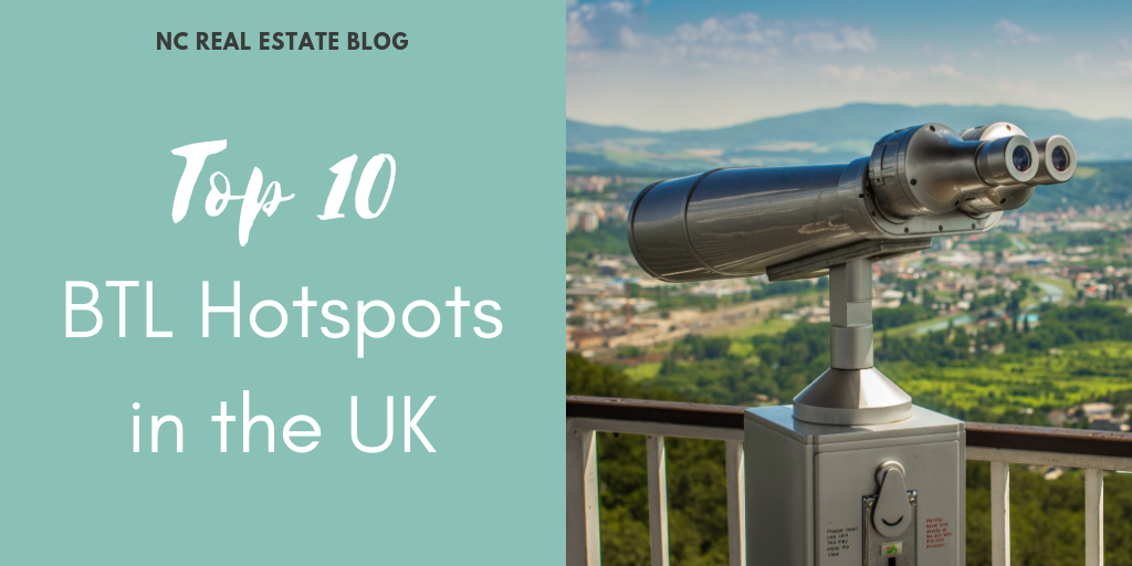 Top 10 BTL Hotspots in the UK