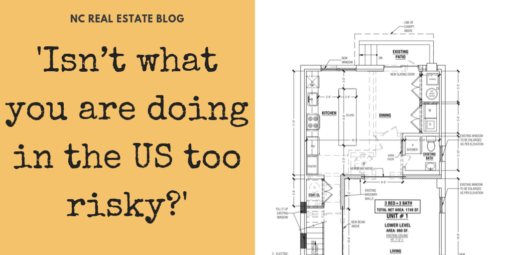 'Isn't what you are doing in the US too risky?'