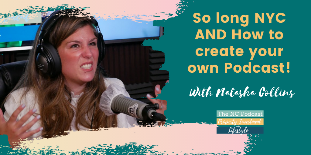 So long NYC AND How to create your own Podcast!