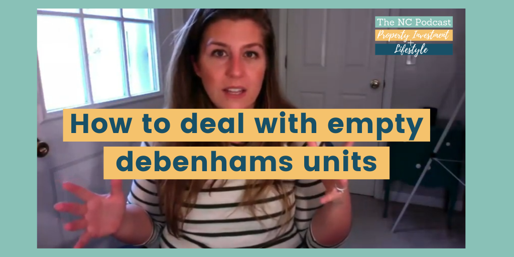 What are we going to do with these empty Debenhams units?!